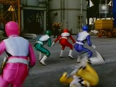 Power Rangers • S07E04