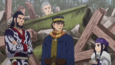 Golden Kamuy • S01E12